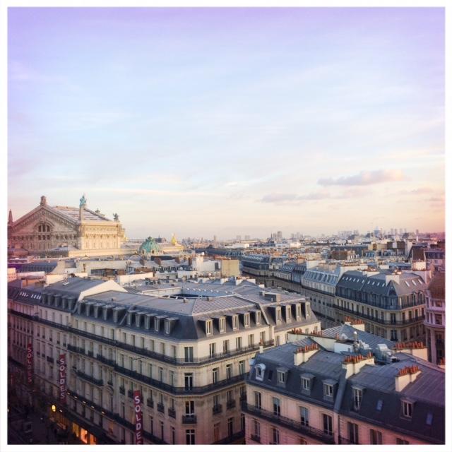 Wochenende in Paris